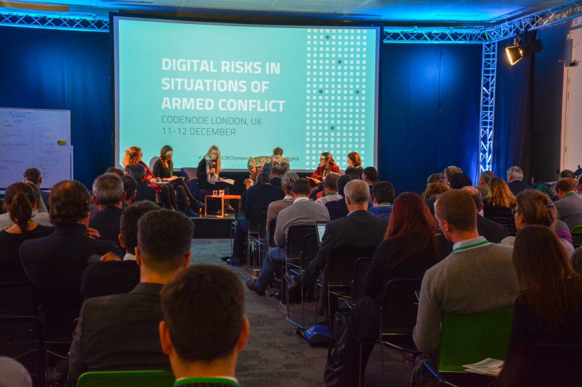 Digital technologies: Exploring threats for people and humanitarians in warzones