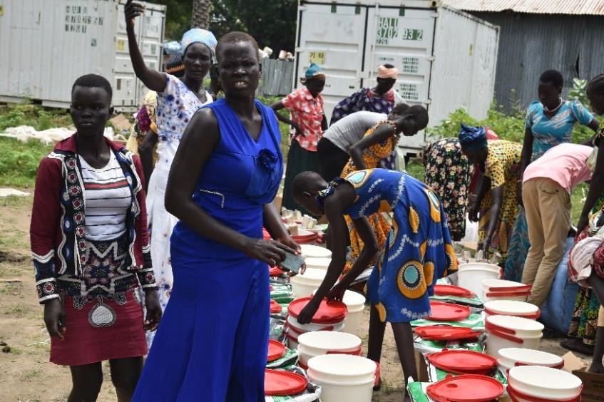 南苏丹最新行动动态:暴力、洪水导致数千人无家可归,并面临营养不良和疾病的危险