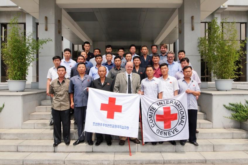 朝鲜:爆炸伤管理培训在平壤成功举办