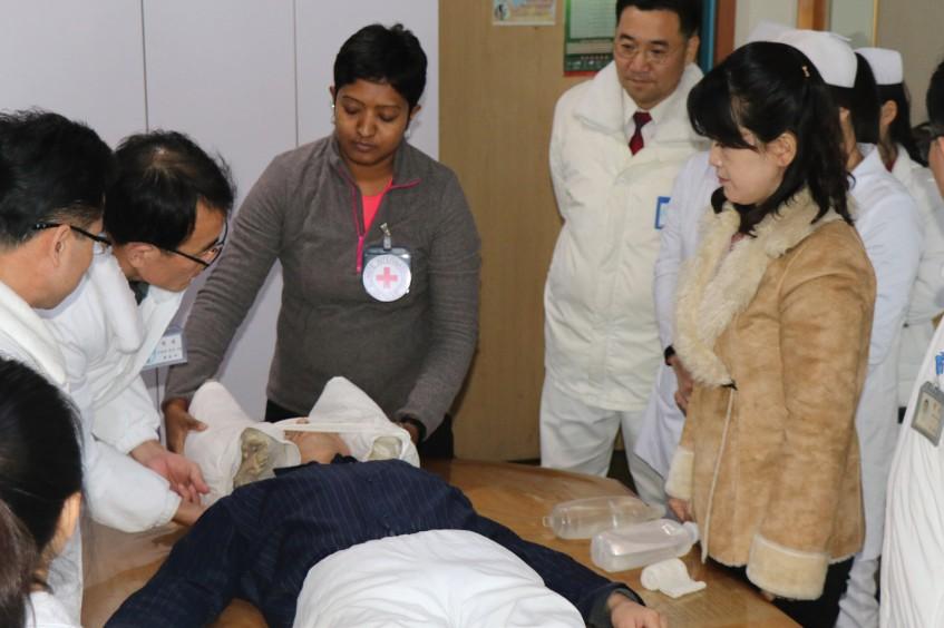 Unterstützungsprogramm für die Notaufnahme des Pyongyang Medical College Hospital