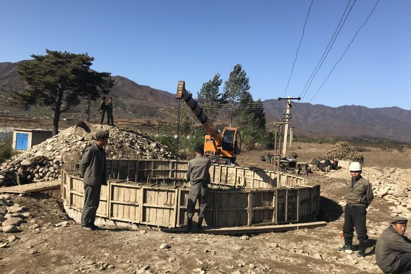 朝鲜供水与居住环境项目