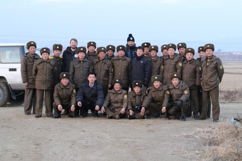 红十字国际委员会在朝鲜为拆弹警察举行培训