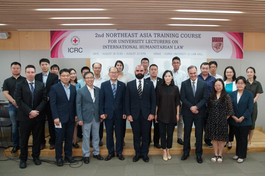 Seoul: 2nd Northeast Asia training for university lecturers promotes greater respect for IHL