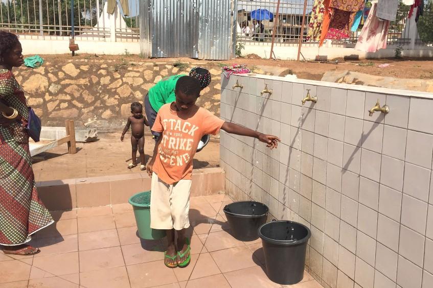 République Centrafricaine : de l'eau potable pour l'hôpital communautaire de Bangui