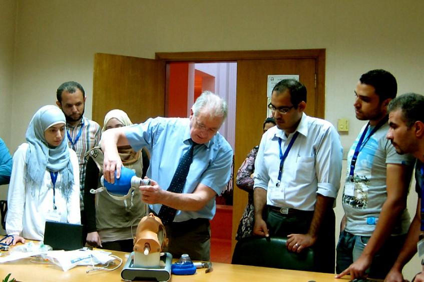 埃及:提高创伤应急处理技能