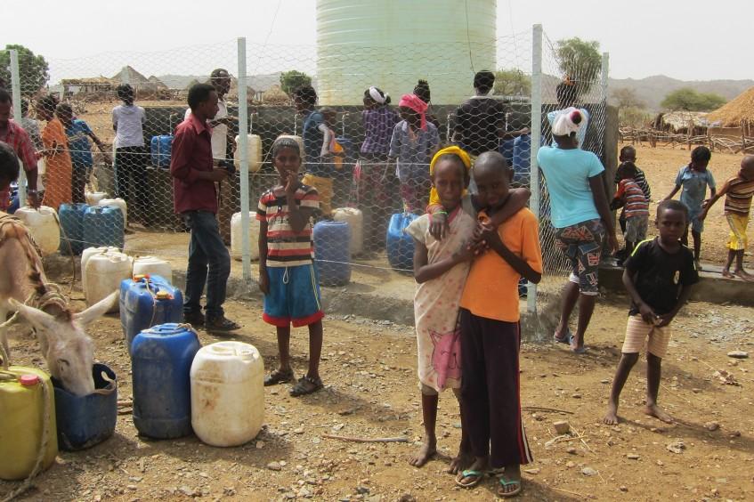 Эритрея: благодаря солнечной энергии можно добывать столь необходимую людям воду