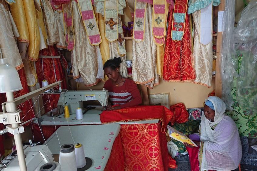 CICV e Cruz Vermelha da Etiópia ajudam repatriados com atividades de geração de renda