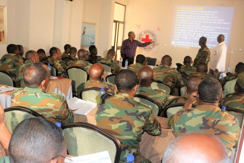 埃塞俄比亚:41名军队指挥官接受国际人道法培训
