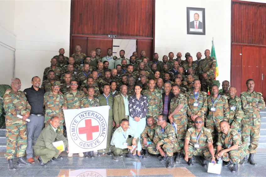 Ethiopia: ICRC delivered IHL training to high-ranking trainee military officers