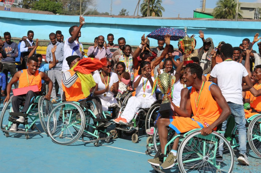"Ethiopia: ""Playing wheelchair basketball becomes an orbit of my happiness"""