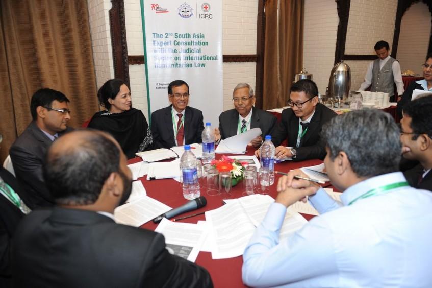 South Asian judiciaries work towards enhancement of IHL capacity across region