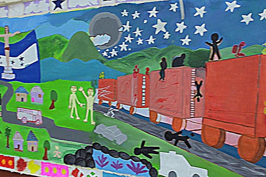 الهندوراس: الفن علاج لصدمات أسر المهاجرين