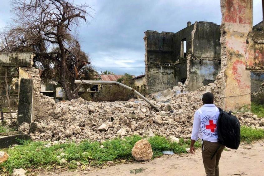 """热带气旋""""肯尼斯""""相关行动最新进展:抵达无法获得援助的社区"""