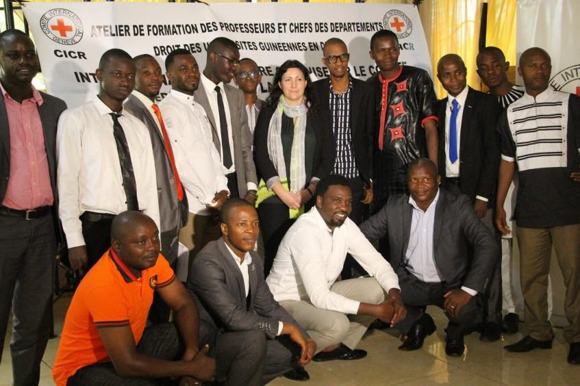 Guinée : le CICR en milieu académique