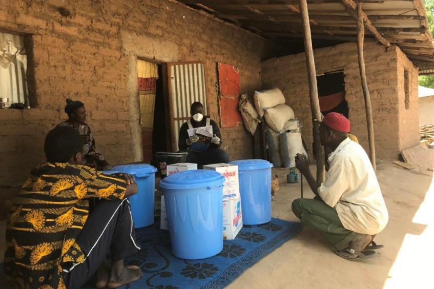 Riposte Covid-19 de la Délégation régionale du CICR à Dakar