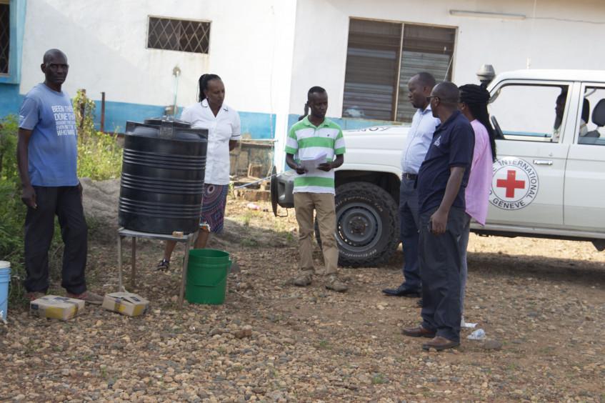 Burundi : riposte Covid-19 de la délégation de Bujumbura