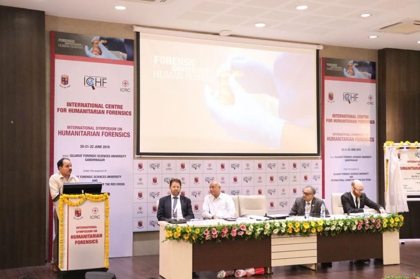 Weltweit erstes internationales Zentrum für Humanitäre Forensik in Indien eröffnet