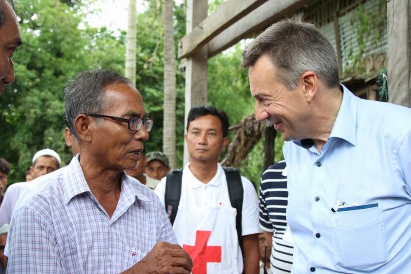 "ICRC President Peter Maurer calls Bangladesh-Myanmar crises ""lose-lose situation for people"""