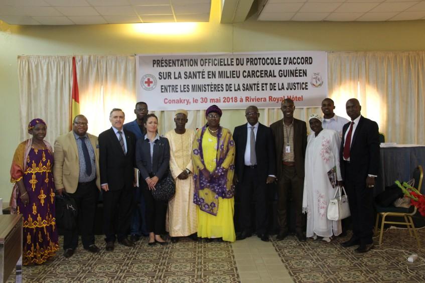 Guinée : présentation officielle du protocole d'accord sur la santé en milieu carcéral