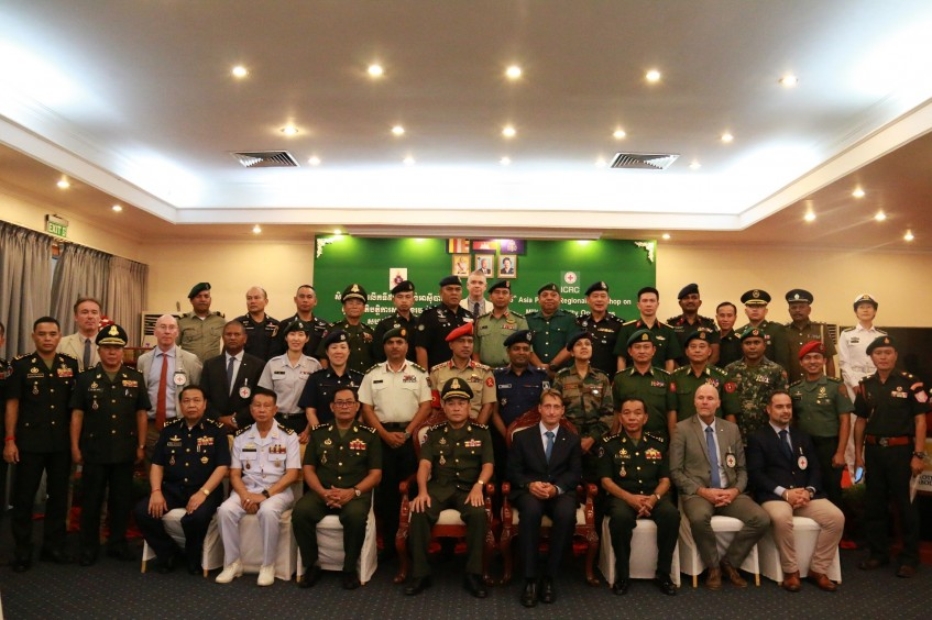 Cambodia: Helping armed forces uphold IHL during special operations