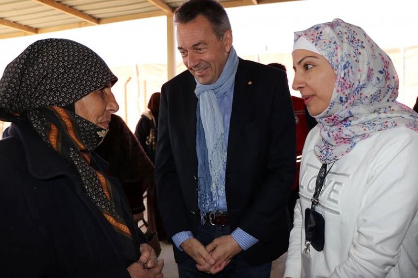 红十字国际委员会主席结束对约旦的正式访问