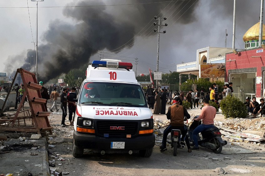 Iraq: As death toll rises in protests, ICRC deplores loss of life and violence