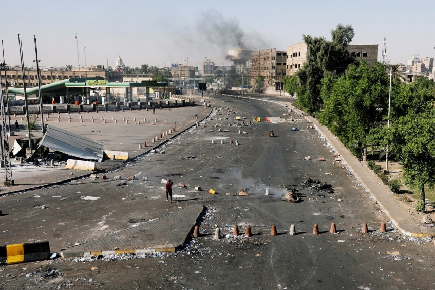 As violent protests across Iraq escalate, ICRC calls for restraint