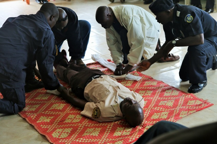Liberia: Law enforcement officials train in first aid