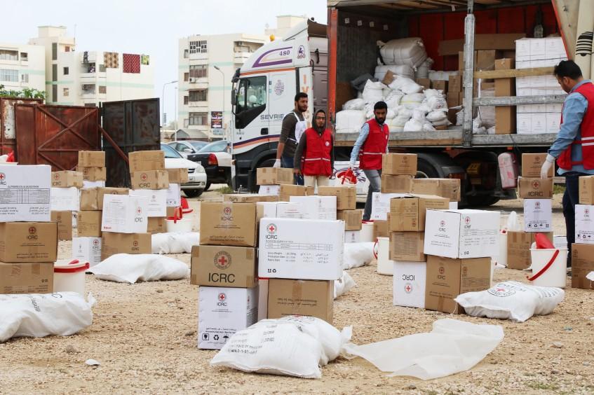 Libyen: Gefangen zwischen Geschossen, Bomben und nun auch COVID-19