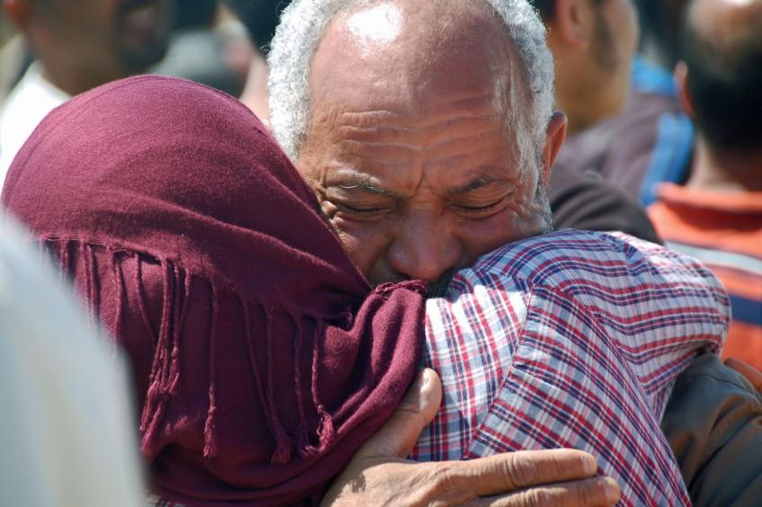 Líbia: Milhares de pessoas receberam alimentos e atendimento médico vital em 2015