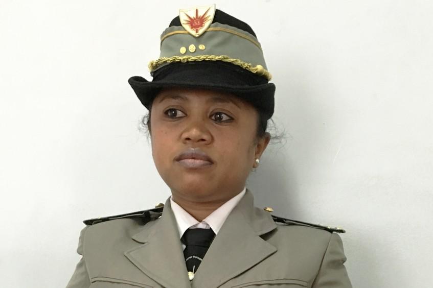 DIH et forces armées malgaches : une femme à l'honneur