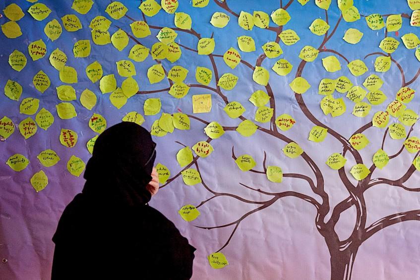 格鲁吉亚:国际失踪者日