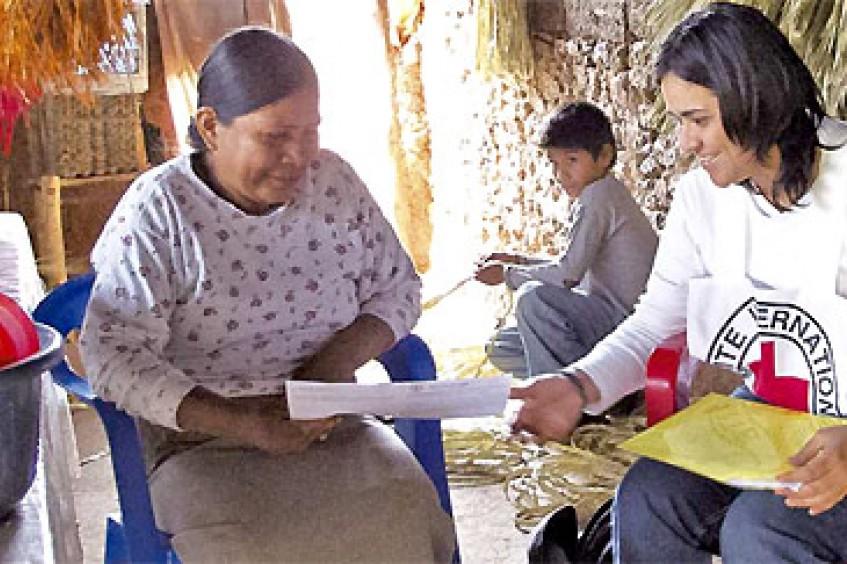 红十字国际委员会墨西哥、中美洲与古巴代表处开展的活动