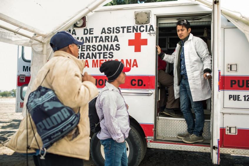 Amérique centrale et Mexique : le soutien apporté par les volontaires Croix-Rouge aux migrants