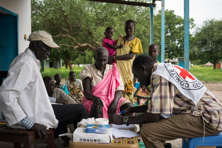 Reaching rural communities with medical services in South Sudan