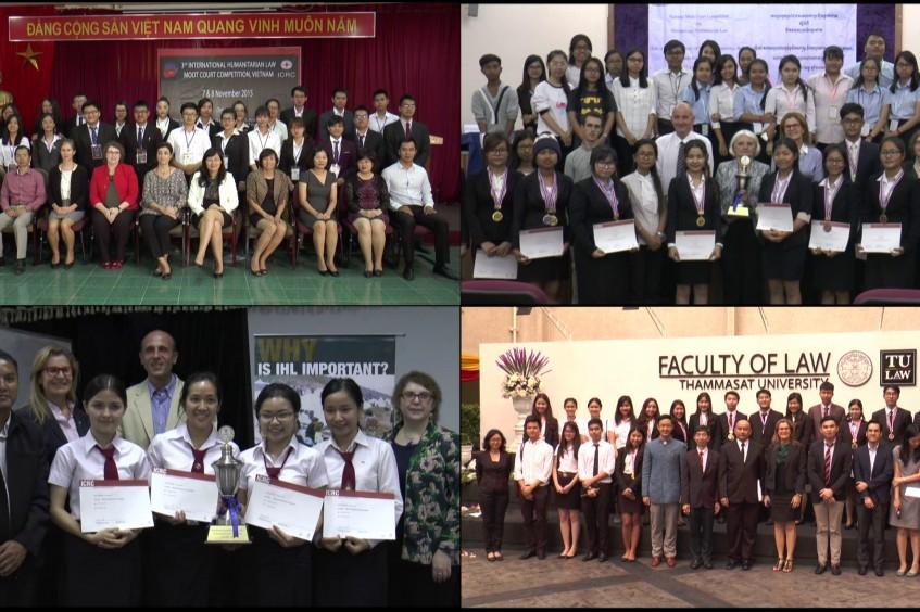 东南亚举办国际人道法模拟法庭竞赛