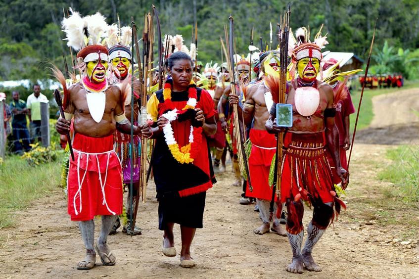 Papúa Nueva Guinea: la vida en el Pacífico Sur