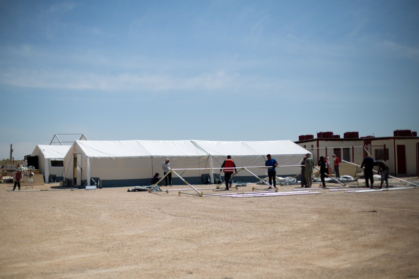 Syria: Field hospital opens for displaced people in Al Hol camp