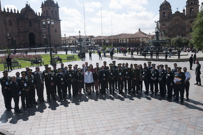 Peru: Police officers from the Americas analyze ways of reducing humanitarian impact of urban violence