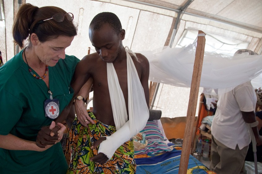 جمهورية أفريقيا الوسطى: اللجنة الدولية تدعو إلى احترام الحياة والكرامة الإنسانية