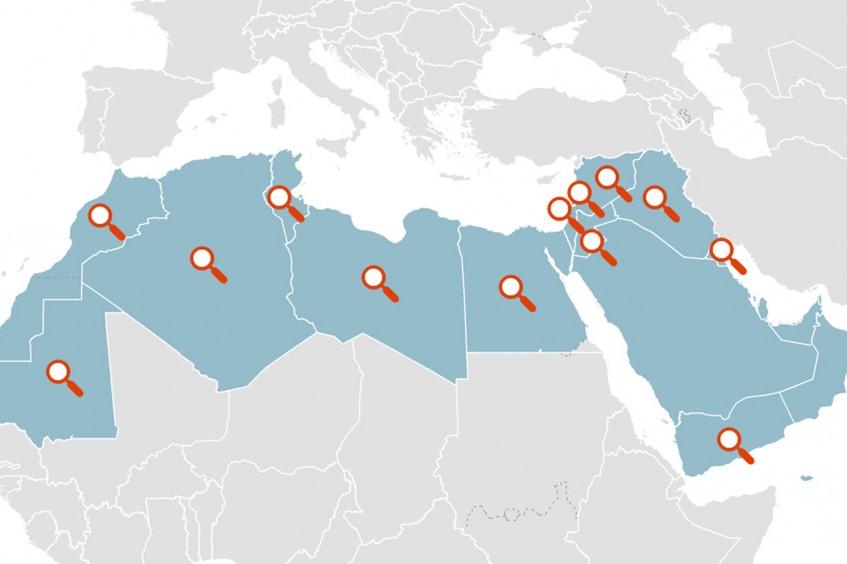 إعادة الروابط العائلية في الشرق الأوسط وشمال أفريقيا