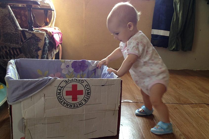 俄罗斯联邦:红十字国际委员会帮助乌克兰家庭