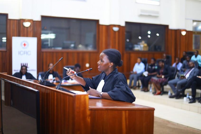 Promoting International Humanitarian Law among Rwandan law students