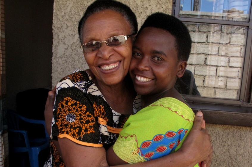Rwanda : Éliane retrouve sa famille après 24 ans de séparation