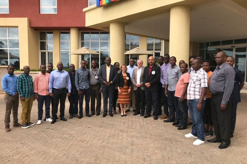 Rwanda: Staff from 3 hospitals get trained in conflict-wound management