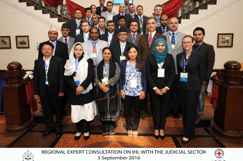 The ICRC's global engagement with the Judicial Sector on international humanitarian law