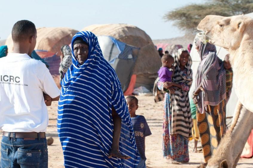 Somalie : le CICR est venu en aide aux populations touchées par le conflit et la sécheresse en 2017