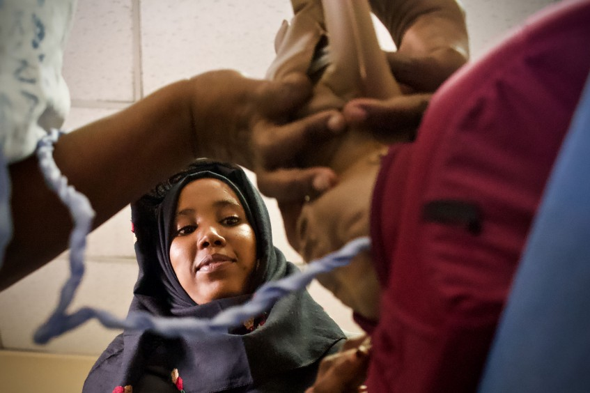 What's it like being a midwife in Somalia?
