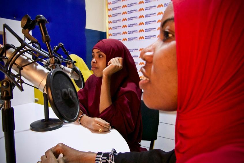 Somália: cuidados preventivos através da rádio