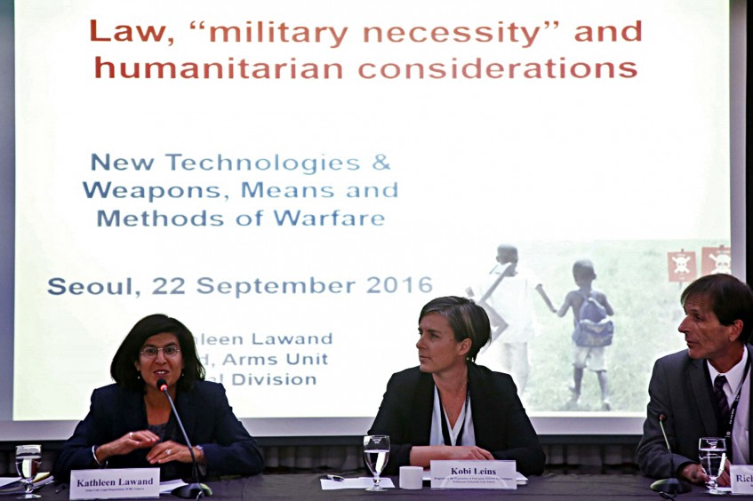 Impact of new technologies and weapons on international humanitarian law